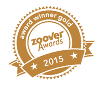 Gouden Embleem Zoover Awards 2015 voor Kruger Estate