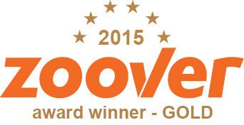 Zoover Award Kruger Estate Beste vakantiehuis Zuid-Afrika 2015